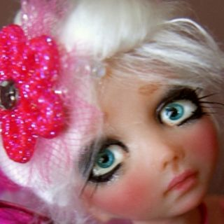OOAK Fairy Fantasy Art Doll Laika by Esmeralda Gonzalez Doll Tears