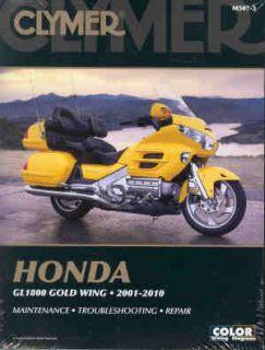 Clymer Honda GL1800 Gold Wing 2001 2010 Repair Manual