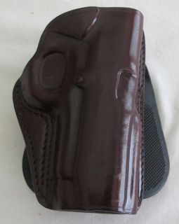 Galco Concealed Carry Leather Paddle Holster 1911