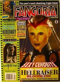 Fangoria Magazine 141 Hellraiser Clive Barker