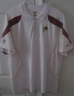 NFL Washington Redskins Coaches Short Sleeve Polo Shirt XXL Must Have