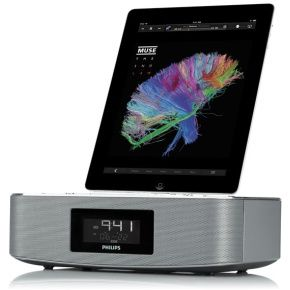 DC291 Raido Alarm Clock iPod iPhone iPad Aux  Android Aluminum