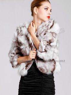 100 Real Genuine Deluxe Fox Fur Coats Jackets Clothing Ladies Vintage