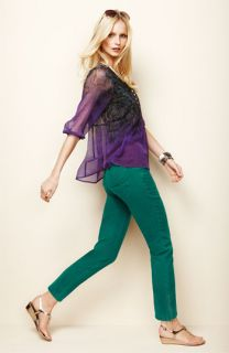 Casual Studio Blouse & Not Your Daughters Jeans® Ankle Jeans
