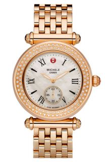 MICHELE Caber Diamond & Rose Gold Customizable Watch