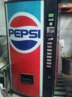 Dixie Narco 386 Soda Coke Pepsi Machine