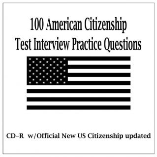 US Citizenship 2012 Question and Answer Audio Test CD