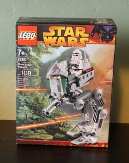 LEGO Star Wars Clone Scout Walker 7250 100 complete w box inst