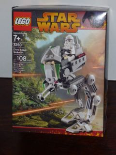Star Wars Lego Clone Scout Walker   Lego Kit #7250