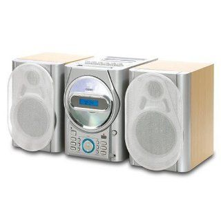 COBY CX CD410 MINI STEREO SYSTEM W/ CD,CASSETTE & RADIO