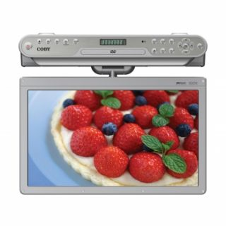 Coby Under Kitchen Cabinet Counter Flat Screen TV LCD