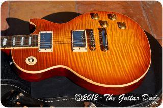 2004 Gibson Les Paul Standard Premium Plus AAAA+ Flametop Light Burst