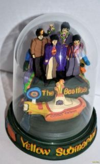 The Beatles Yellow Submarime Limited Edition with Certi Franklin Mint