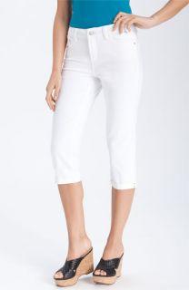NYDJ Fiona Roll Cuff Capri Jeans