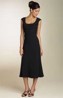 Jones New York Dress Beaded Crepe Dress