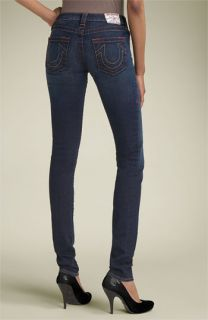 True Religion Brand Jeans Stella Skinny Stretch Jeans (Dark Pony Express)