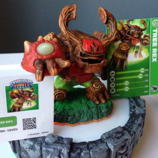 SKYLANDERS GIANTS Tree Rex Brand New with Unused Code, Sticker, Card