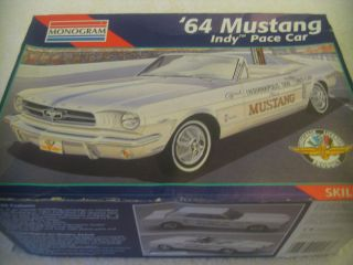 Complete Ford Mustang Model Car Kit Collectible Classic Automobile