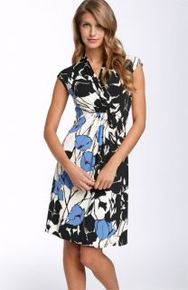 Donna Morgan Printed Jersey Sheath (Plus)