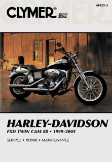 Clymer Repair Service Manual Harley Davidson Dyna Glide Twin Cam 99 05