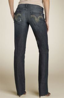 7 For All Mankind® Kate with Crystals Straight Leg Stretch Jeans (Melbourne)
