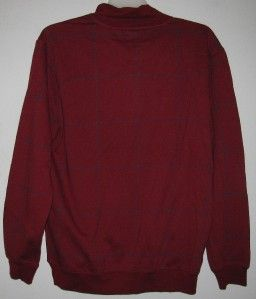 New Alexander Julian Colours L s Casual Mans Shirt Medium Burgundy