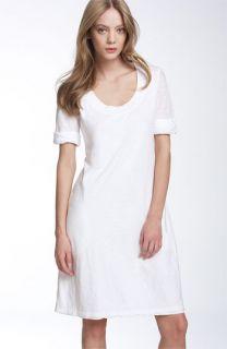 James Perse Roll Sleeve T Shirt Dress