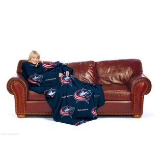 Columbus Blue Jackets NHL Snuggler Fleece Snuggy Throw