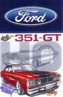 Classic Ford Falcon Ho Gt Single Bed Quilt Cover Set Great Gift Idea