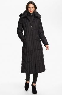 Ellen Tracy Bib Front Down Coat