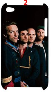 Coldplay Band Yellow Waterfall iPod Touch 4G Case Casing