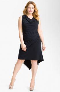 MICHAEL Michael Kors Draped Sleeveless Dress (Plus)