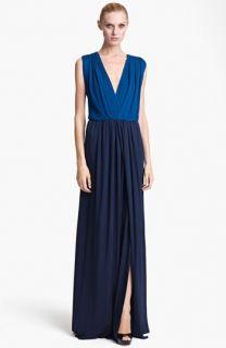 Vionnet Ruched Crepe Jersey Dress