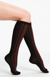 Hot Sox Dimensional Cable Knee High Socks