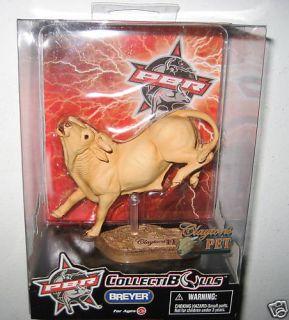 Breyer Claytons Pet Collectible Bulls Figure w Base