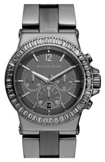 Michael Kors Crystal Bezel Chronograph Watch