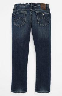 Armani Junior Super Slim Jeans (Toddler & Little Girls)