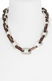 MARC BY MARC JACOBS Articulated Zebra Link Necklace