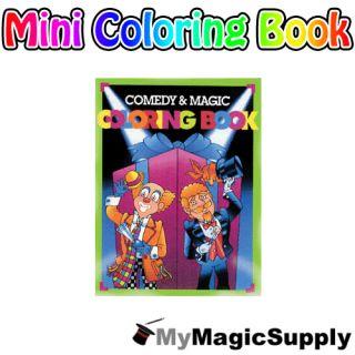 Mini Magic Coloring Book Comedy Kids Show Trick Prop