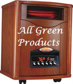 1500WT UV Infrared Comfort Furnace Heater Cut Heating Bill 50 Heats