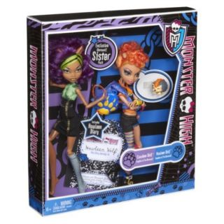 2012 Monster High Target Exclusive Howleen and Clawdeen Wolf Gift Set