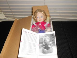 Ashton Drake Galleries McMemories Collector Porcelain Doll McDonalds