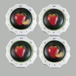 Clementine Design Electric Stove Knobs Home Kitchen Decor Apple New