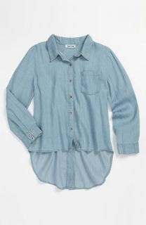 Mia Chica Chambray Shirt (Big Girls)