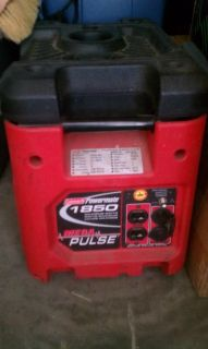 Coleman Powermate Generator 1850 Mega Pulse Plus