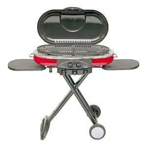 Coleman Portable BBQ Pit Cooker Propane GAS Camping Outdoor Barbecue
