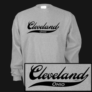 Cleveland Ohio Oh Cavaliers Browns Indians Sweatshirt