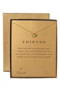 Dogeared Friends Reminder Pendant Necklace