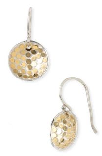 Anna Beck Bali Gold Plated Dish Earrings