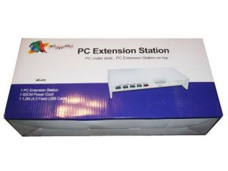 Logisys Computer PC Extension Station 4 USB Power PE101